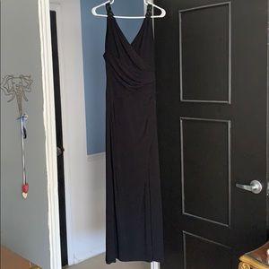 Lauren By Ralph Lauren Black Gown